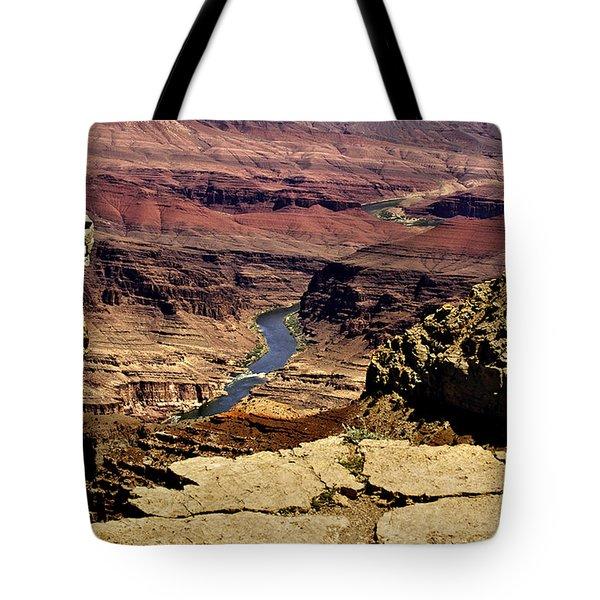 Grand Canyon Colorado River Tote Bag by  Bob and Nadine Johnston