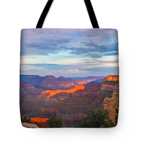 Grand Canyon Grand Sky Tote Bag by Heidi Smith