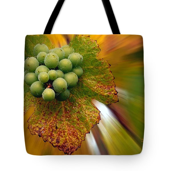 grapes Tote Bag by Jean Noren