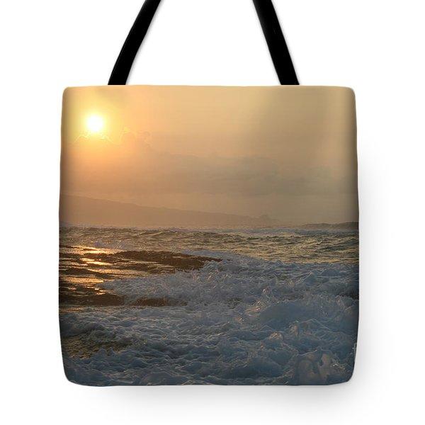 He Inoa Wehi No Hookipa Tote Bag by Sharon Mau