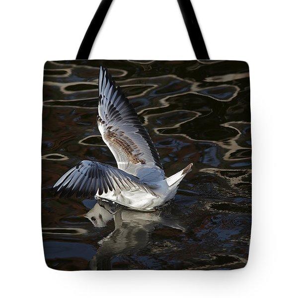 Head Under Water Tote Bag by Michal Boubin