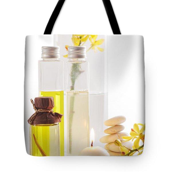 Health Spa Concepts Tote Bag by ATIKETTA SANGASAENG