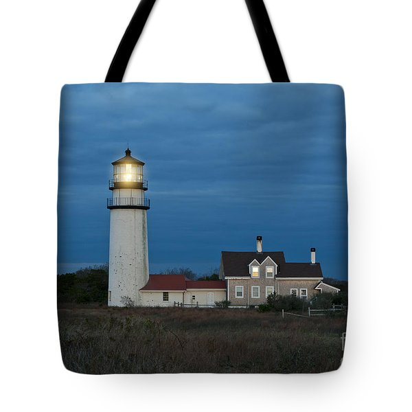 Highland Lighthouse Tote Bag by John Greim