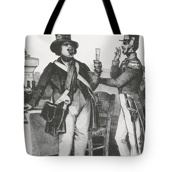 Honore De Balzac, French Author Tote Bag by Photo Researchers