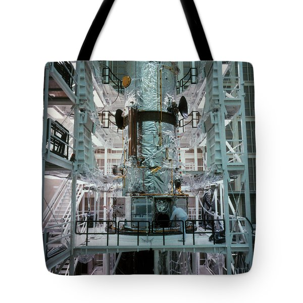 Hubble Space Telescope Tote Bag by NASA/Science Source