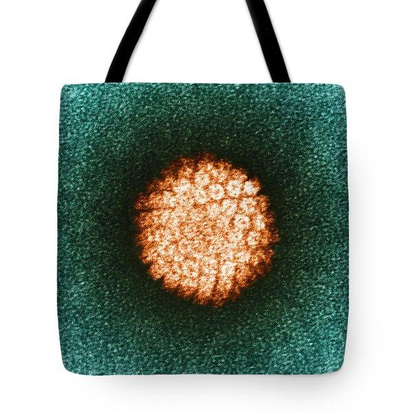 Human Papilloma Virus Hpv Tote Bag by Science Source
