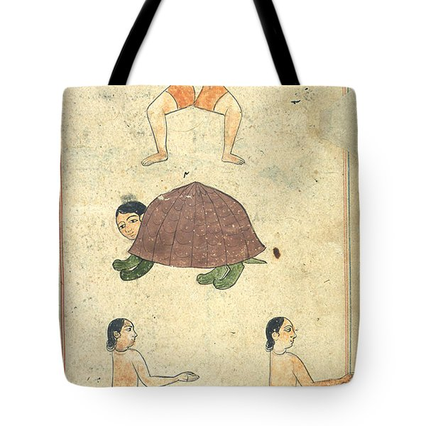 Islamic Mythical Creatures, 17th Century Tote Bag by Photo Researchers