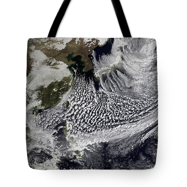 January 2, 2009 - Cloud Simulation Tote Bag by Stocktrek Images