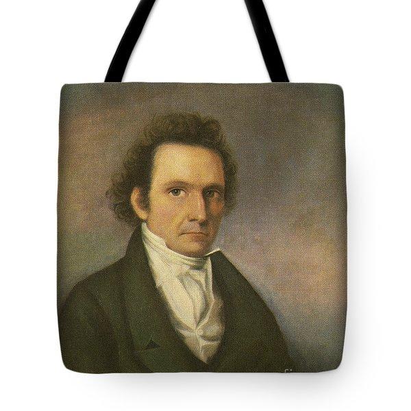 John James Audubon, French-american Tote Bag by Photo Researchers
