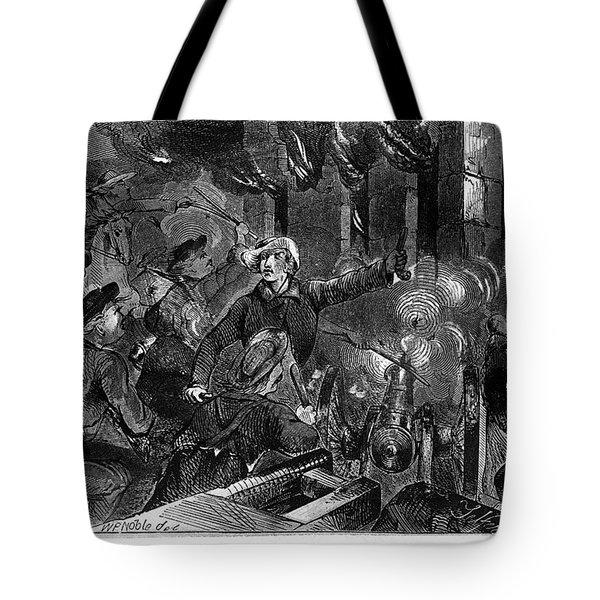 Kansas: Lawrence, 1856 Tote Bag by Granger