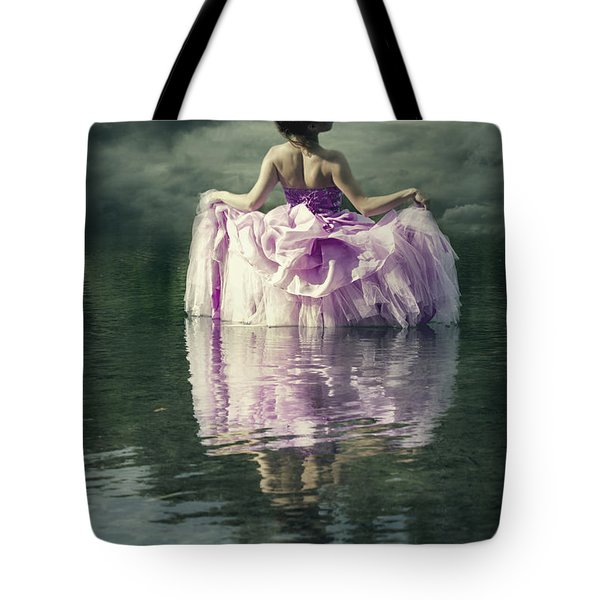 Lady In The Lake Tote Bag by Joana Kruse