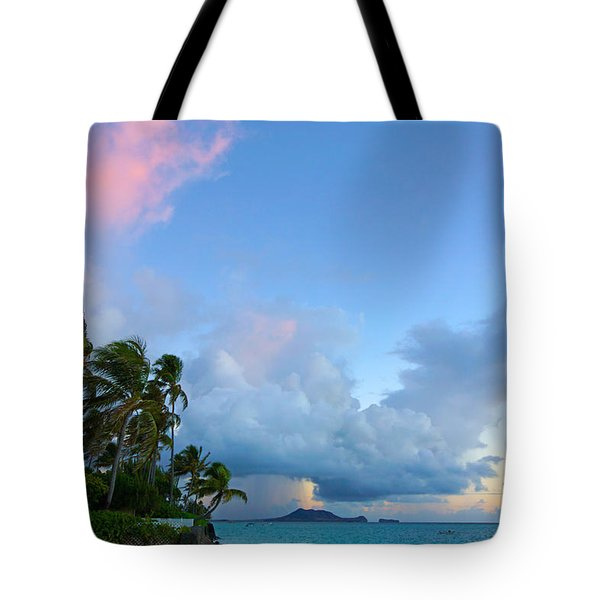 Lanikai Dawn Tote Bag by Kevin Smith