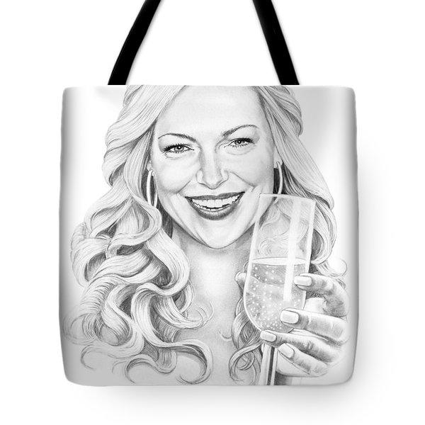 Laura Prepon Tote Bag by Murphy Elliott
