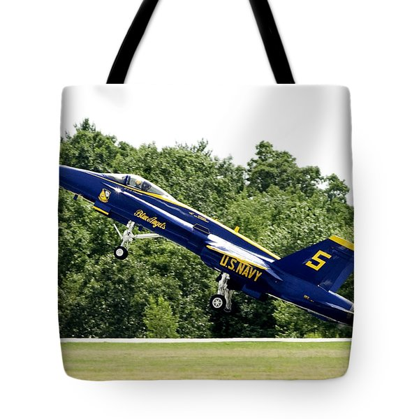 Lift Off Tote Bag by Greg Fortier