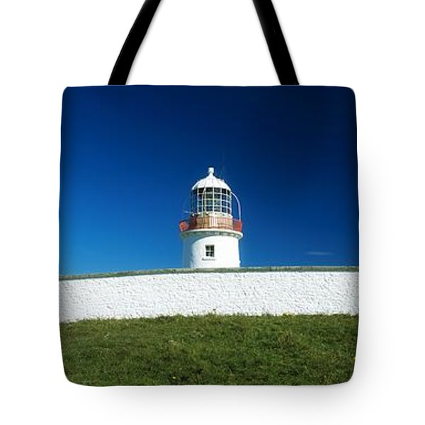 Lighthouse At St Johns Point, Donegal Tote Bag by The Irish Image Collection