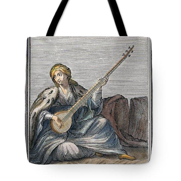 Long Lute, 1723 Tote Bag by Granger