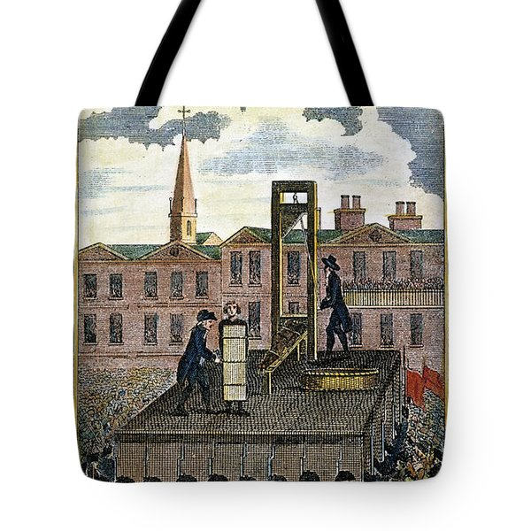 Louis Xvi: Execution Tote Bag by Granger