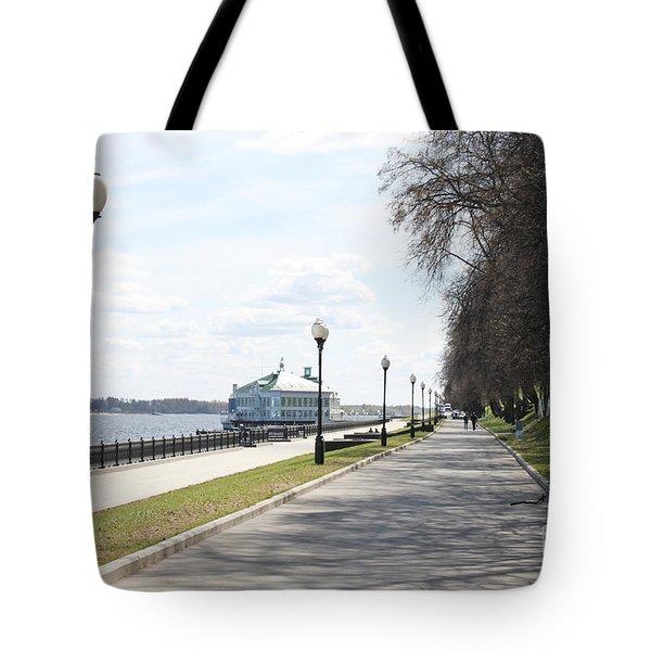 Lower Quay Tote Bag by Evgeny Pisarev