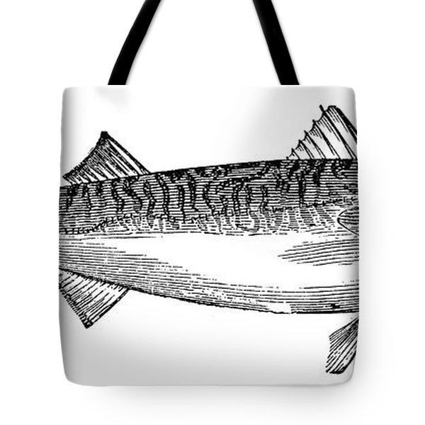 Mackerel Tote Bag by Granger