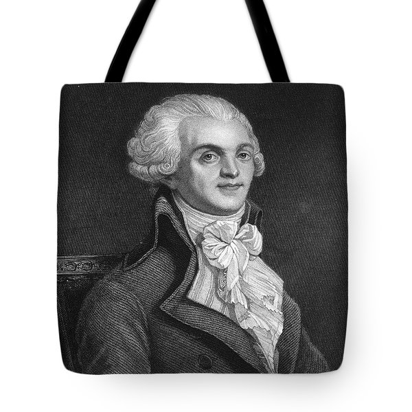 Maximilien Robespierre Tote Bag by Granger