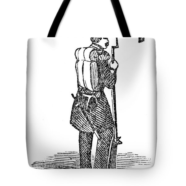 Mexican War: Soldier Tote Bag by Granger