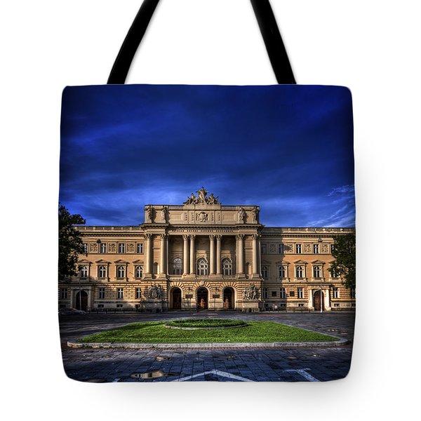 Mood Indigo Tote Bag by Evelina Kremsdorf