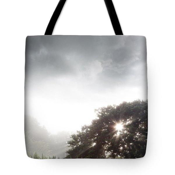 Morning Sunlight Tote Bag by Les Cunliffe