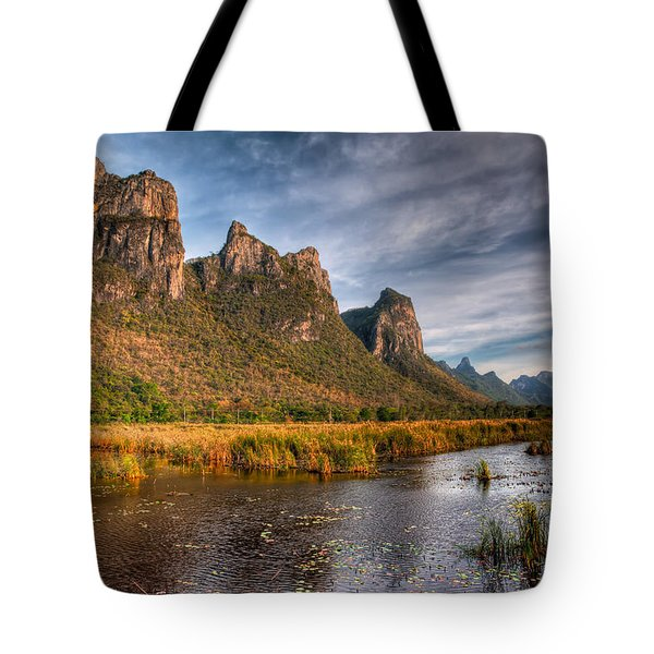 National Park Tote Bag by Adrian Evans