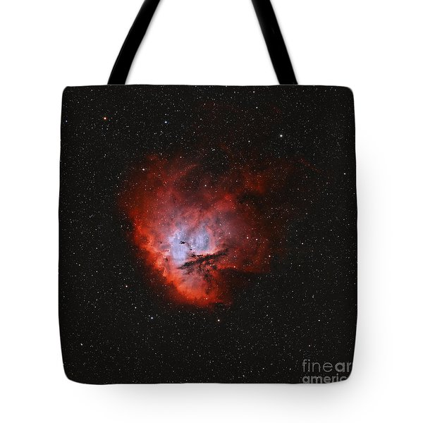 Ngc 281, The Pacman Nebula Tote Bag by Rolf Geissinger