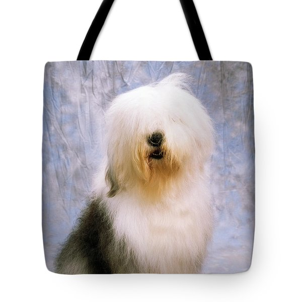 Old English Sheepdog Tote Bag by The Irish Image Collection