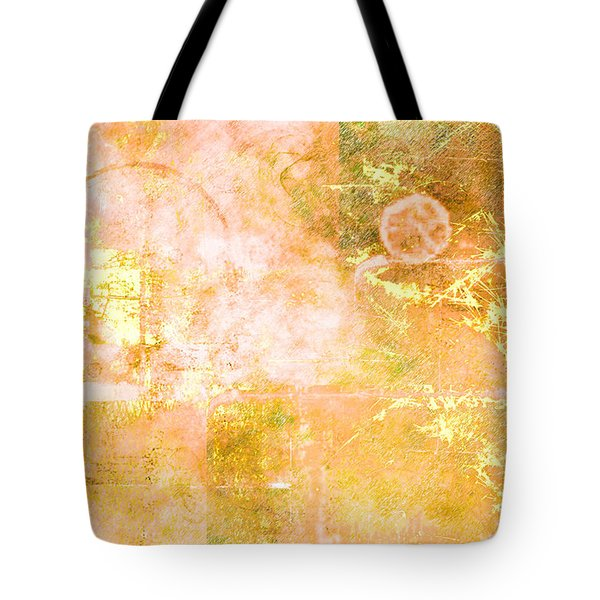 Orange Peel Tote Bag by Christopher Gaston