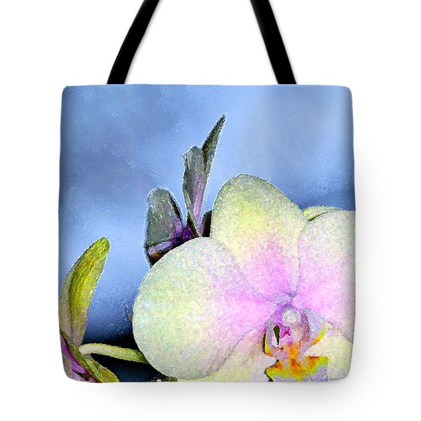 Orchid 1 Tote Bag by Pamela Cooper