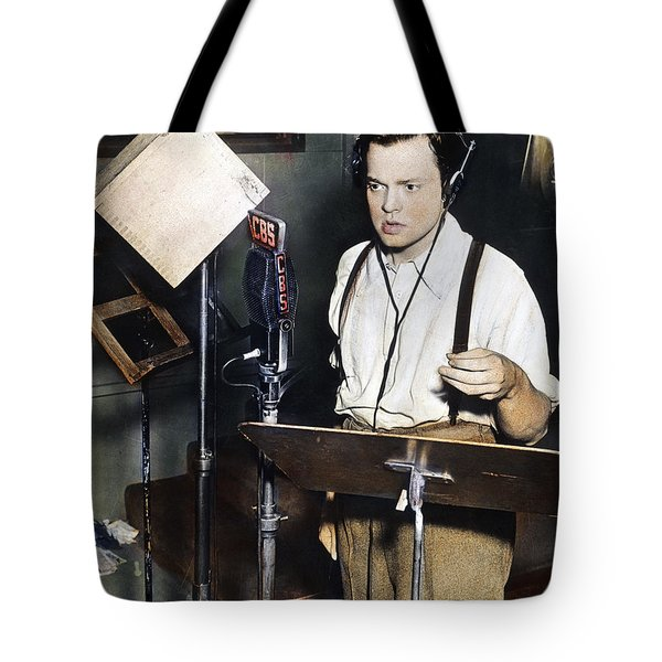 Orson Welles (1915-1985) Tote Bag by Granger