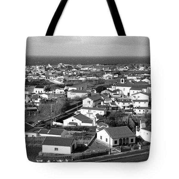 Parish In The Azores Tote Bag by Gaspar Avila