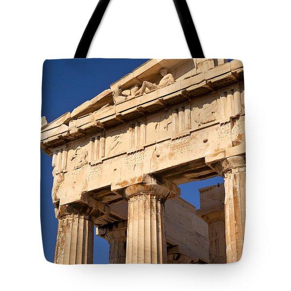 Parthenon Tote Bag by Brian Jannsen