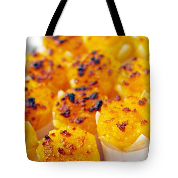 Pastry Cakes Tote Bag by Carlos Caetano