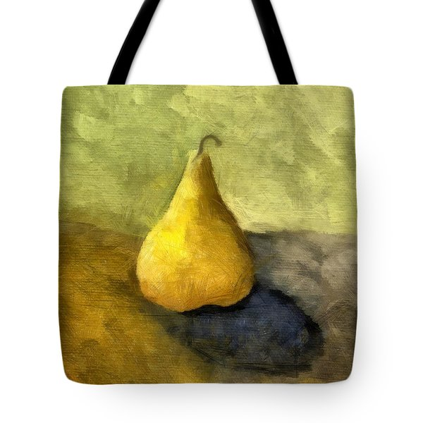 Pear Still Life Tote Bag by Michelle Calkins