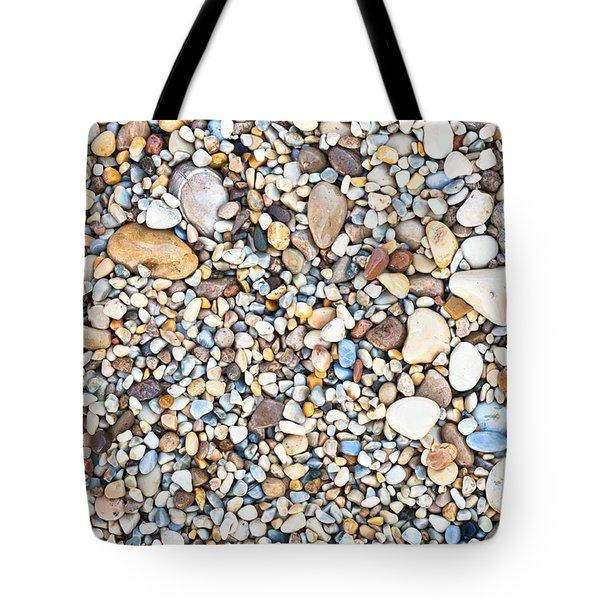 Pebbles Tote Bag by Tom Gowanlock