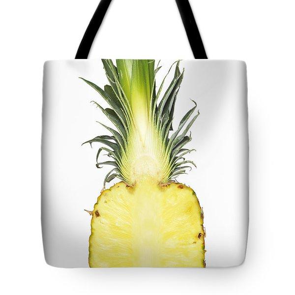 Pineapple Ananas Comosus Tote Bag by Matthias Hauser