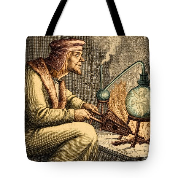Preformationism 18th Century Tote Bag by New York Public Library