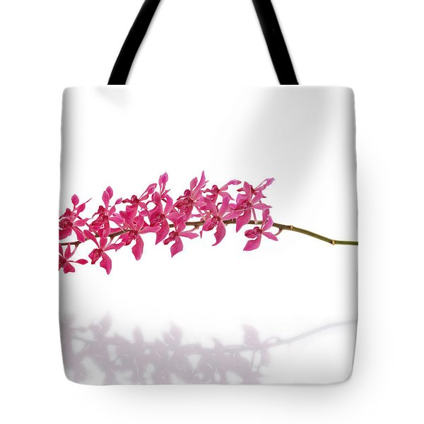 red orchid Tote Bag by ATIKETTA SANGASAENG