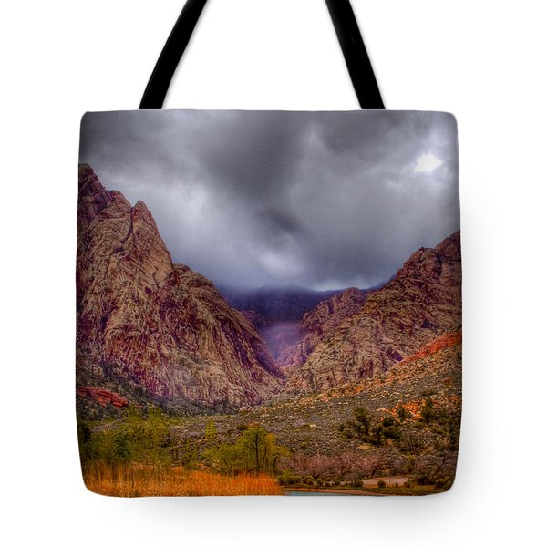 Red Rock Canyon Tote Bag by David Patterson