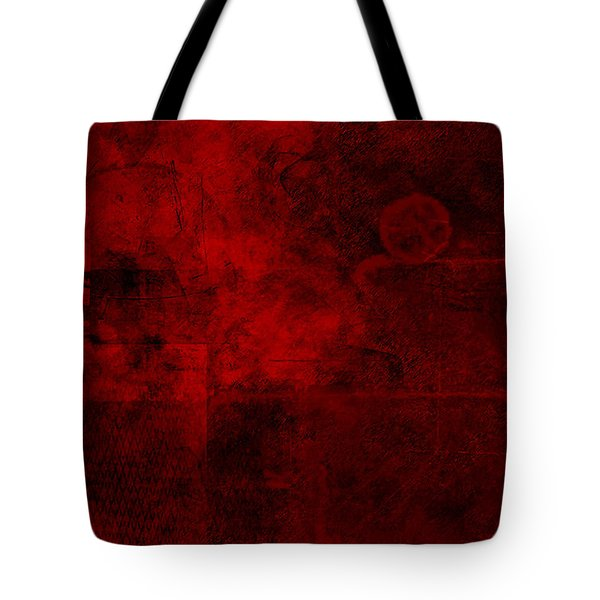 Redstone Tote Bag by Christopher Gaston