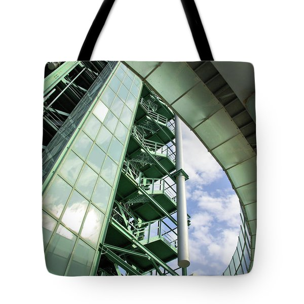 Refinery Detail Tote Bag by Carlos Caetano
