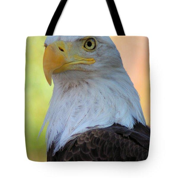 Regal Eagle Tote Bag by Linda Eshom
