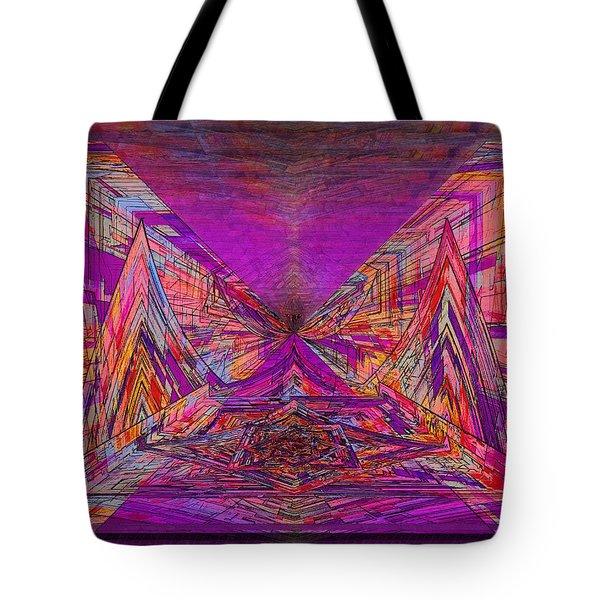 Rumblings Within Tote Bag by Tim Allen