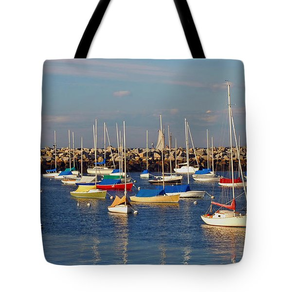 Sail Siesta Tote Bag by Joann Vitali