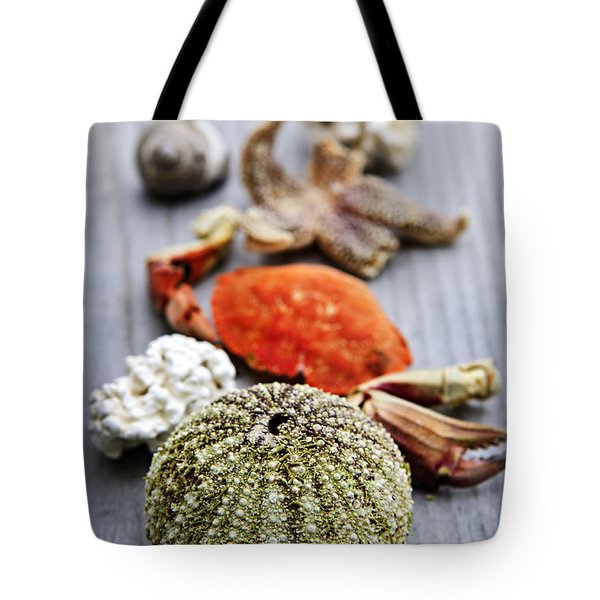 Sea Treasures Tote Bag by Elena Elisseeva
