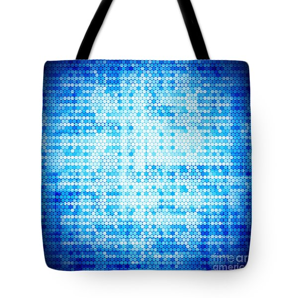 Seamless honeycomb pattern Tote Bag by Setsiri Silapasuwanchai