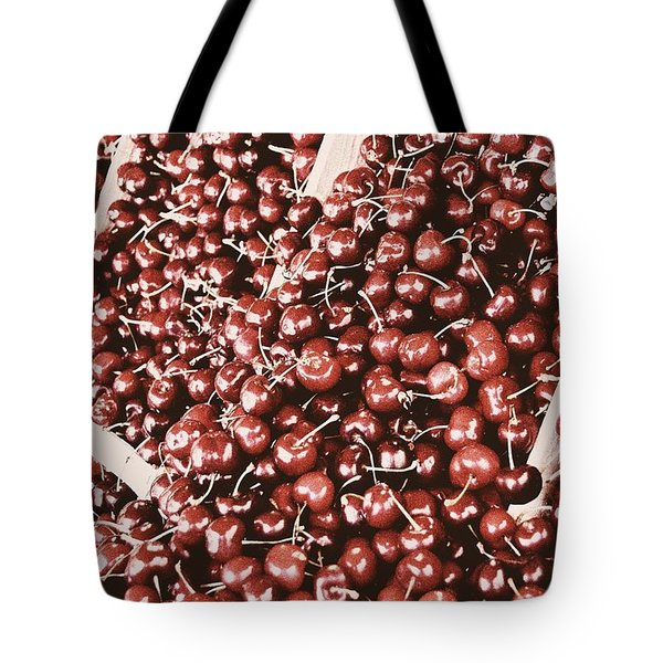 Season Of The Cherry Tote Bag by JAMART Photography